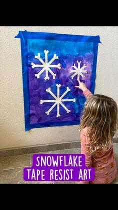 Winter Kids, Winter Art, Winter Theme, Snow Crafts, Snow Globe Crafts, Kindergarten Crafts, Preschool Crafts, Kids Crafts, Baby Crafts