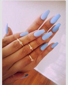 matte baby blue :: zazumi.com