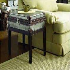 Hammary Hidden Treasures Box On Stand Accent Table - 090-266 - Lowest price online on all Hammary Hidden Treasures Box On Stand Accent Table - 090-266
