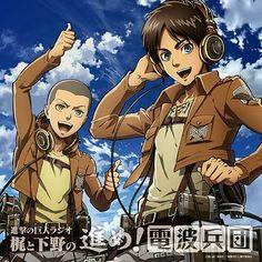 """""""Shingeki no Kyojin Radio CD Vol.1"""" attack on titan- Eren Jaeger - Connie Springer"""