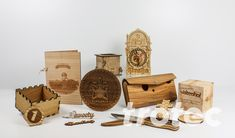 Inspiration for laser-engraved handicrafts: decorative items, home and garden accessories, wooden houses, wooden figurines Trotec Laser, Gravure Laser, Wooden Figurines, Textiles, Christmas Jewelry, Garden Accessories, Laser Engraving, Handicraft, Decorative Items