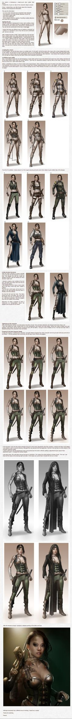 Character creation part 2 by PascaldeJong on DeviantArt