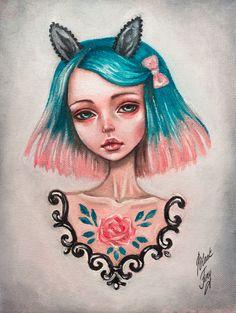 bunny girl by BlackFurya.deviantart.com on @deviantART