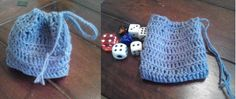 horgolt kockatartó