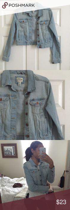 Denim jacket Worn a few times. Still like new. Forever 21 Jackets & Coats