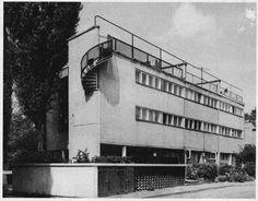 Lachert's House, Bohdan Lachert, Jozef Szanajca, 1928, Warsaw, Saska Kepa, Katowicka 9