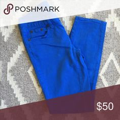 J. Crew Toothpick Jeans Color wash toothpick jeans - minimally worn, very comfortable! I found these ran small (I'm usually a 25) J. Crew Jeans Ankle & Cropped