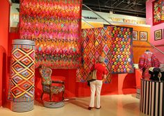 Quilts: Kaffe Fassett – A Life in Colour | Flickr - Photo Sharing!