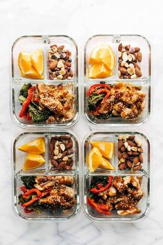Frugal Food Items - How To Prepare Dinner And Luxuriate In Delightful Meals Without Having Shelling Out A Fortune Sheet Pan Garlic Ginger Chicken And Broccoli - A Simple And Low-Maintenance Meal Prep Option, With Huge Flavor And No Refined Sugar. Lunch Meal Prep, Easy Meal Prep, Healthy Meal Prep, Healthy Cooking, Easy Meals, Healthy Eating, Healthy Recipes, Simple Meals, Healthy Food