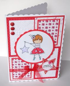 Catch a Falling Star handmade & handstamped by pollypurplehorse, £3.75