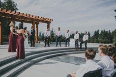 Outdoor Wedding with a View {Alicia Strathearn Photography} #RedwoodsWeddings #wedding #outdoorwedding #outdoorceremony #weddingceremony #langleywedding #langleyweddingvenue #weddingvenue #vancouverwedding #vancouverweddingvenue #fraservalleywedding #fraservalleyweddingvenue #bcwedding #bcweddingvenue #theknot #pnwwedding #pnwweddingvenue #ido #bcoutdoorwedding #outdoorbcwedding #outdoorweddingvenue #outdoorweddingbc #elegantwedding #bridalparty #weddingstyle #weddingwithaview