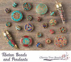 Tibetan Beads and Pendants