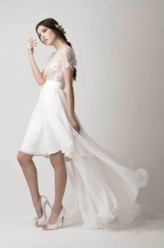 Inspirationssonntag: Romantische Brautmode von Love found True