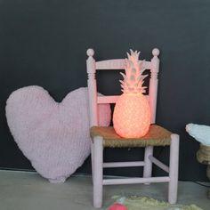 veilleuse Ananas rose