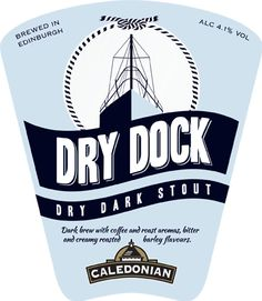 Caledonian Brewery - Dry Dock Stout - 4.1%