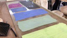 Pottery Video: Printing on Clay - Mono-printing 1