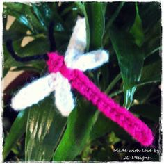 Crochet Dragonfly Appliqué - Free Pattern