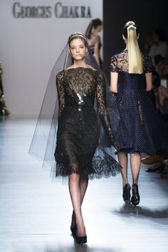 Georges Chakra Haute Couture Fall Winter 2014 Paris