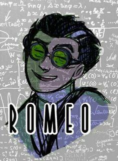 Romeo Mecano the Evil genius