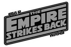 empire strikes back logo - Google Search