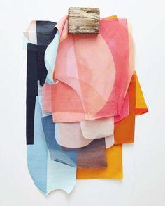 Color Palette - Summer - Fabrics - Coton - Soie - Silk - Lain - Linen - Colorful - Pastel