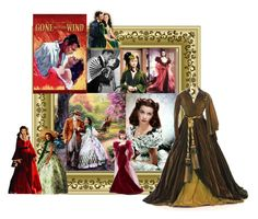 """""""Gone with the wind"""" by atenaide86 ❤ liked on Polyvore featuring Mattel and SCARLETT"""