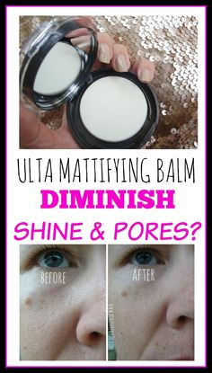 ULTA MATTIFYING BALM REVIEW: does this really diminish shine and pores? Let´s find out!