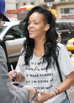 Rihanna No Makeup 1