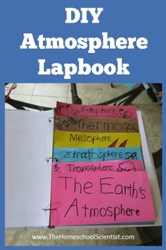 Our kids are studying the layers of the earth's atmosphere. We decided to create a lapbook to help them learn about the layers and to help them review what...