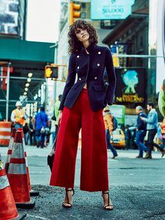 iana godnia by tomas de la fuente for telva december 2015 | visual optimism; fashion editorials, shows, campaigns & more!
