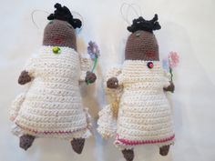 Crochet angels designed crafted by a women's collective at Kim Sacks Gallery Johannesburg Crochet Angels, Crochet Hats, African Design, Sacks, Objects, Designers, Teddy Bear, Toys, Children