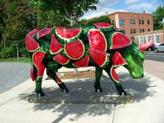 CowParade... Watermelon