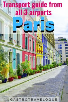 How to get to Paris from the airport - Europe Travel Tips, Travel Guides, Travel Destinations, Backpacking Europe, Travel Plan, European Destination, European Travel, Paris Travel, France Travel