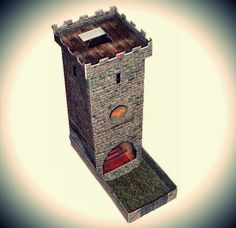 PAPERMAU: Heroscapers - Lodin Dice Tower Papercraft For RPG And Wargames by AliasQTip