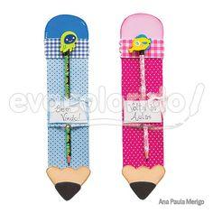 porta lápis em eva