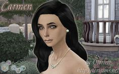 Carmen by Oloriell for The SIms 4