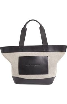Alexander Wang Woman Leather-paneled Printed Canvas Tote Army Green Size Alexander Wang oVYyQ03
