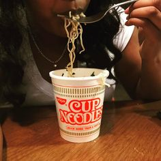 When you on that late night hungry lol @originalcupnoodles with less salt = less guilt #sponsored #slurpface #hungry
