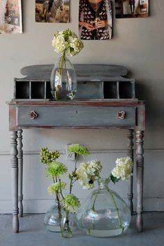 Vintage French Soul ~ before and after basics: dry brush painting | Design*Sponge