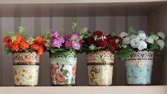 Декупаж - Сайт любителей декупажа - DCPG.RU | Кашпо для цветов Click on photo to see more! Нажмите на фото чтобы увидеть больше! decoupage art craft handmade home decor DIY do it yourself