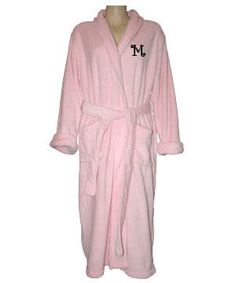 Luxury Monogrammed Fleece Robe $124.95