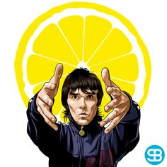 NEW EXCLUSIVE ART WORK! #StoneRoses #TheStoneRoses #IanBrown .. Fancy This On A Canvas Or Phone/Tablet/iPod Case Or Mug Or T-Shirt? Msg Me!
