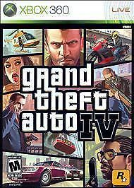Xbox 360 • Grand Theft Auto IV (platinum hits)• Video Games