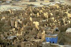 Ruins of the medieval city of Shali, Egypt, Yann Arthus-Bertrand
