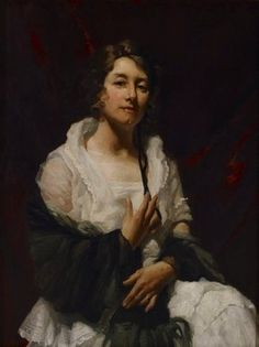 Archibald Prize finalists 1923 :: Art Gallery NSW, WB McInnes, Portrait of a Lady