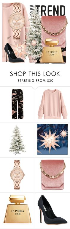 """TREND"" by drahuschka ❤ liked on Polyvore featuring Valentino, Improvements, Cafuné, La Perla and Gianni Renzi"
