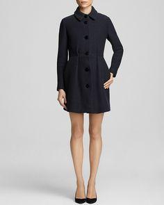 Maje Feminine Wool Coat - Bloomingdale's Exclusive