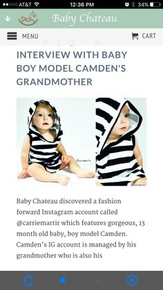 Have you checked out our Blog? Get styling tips from model Camden