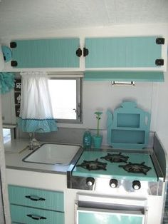 Little Vintage Cottage: An Update on Maizy (My Little Vintage Trailer) - Outdoor Ideas