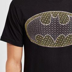 Men's DC Comics Batman Logo Graphic T-Shirt - Black Xxl